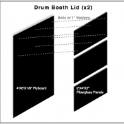 Drum Booth Lid Schematic