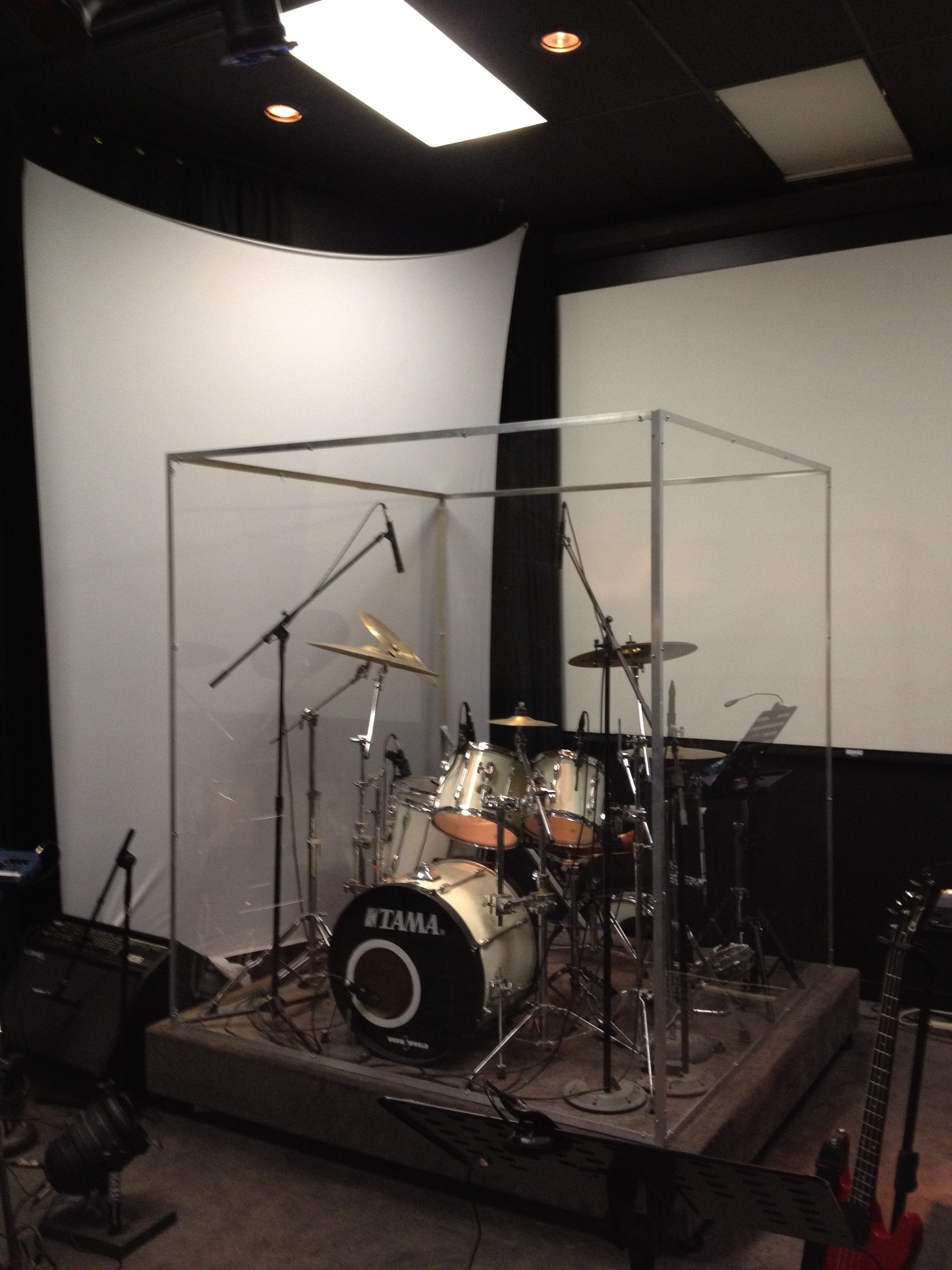 Drum Cages For Churches : custom drum booth andy allen ~ Vivirlamusica.com Haus und Dekorationen